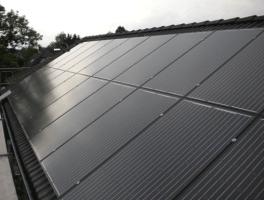 Bild von unserer Photovoltaikanlage in Glinde