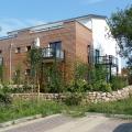 Gesamtblick auf Hinterhof für die Dorfgemeinschaft Allmende Wulfsdorf