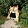 Blick auf den Kleinkindbereich, Tigertunnel