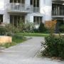 Foto mit Blick auf Pflanzmembran und Terrassen