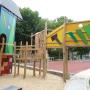 Hochseil-Kletterburg Zuhause für Kinder